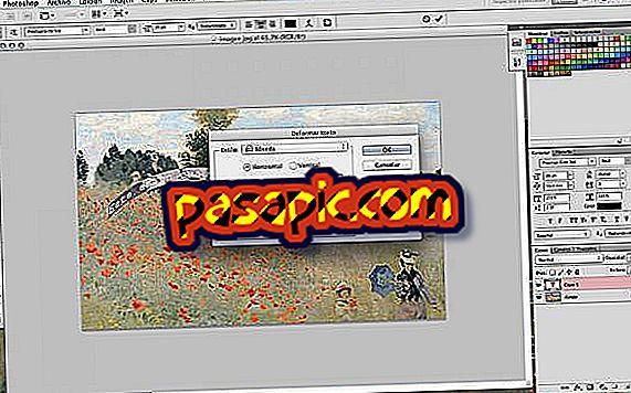 Come inserire del testo in un'immagine in Photoshop