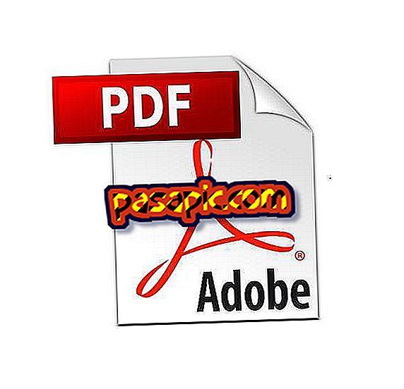Come creare un file PDF online - software