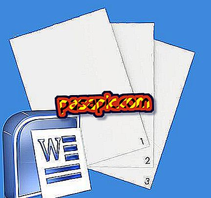 Come creare una pagina discontinua in Word