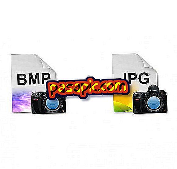 Bagaimana untuk menukar imej BMP ke JPG