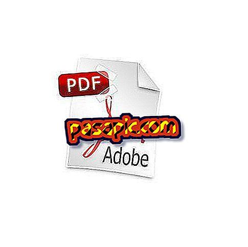 Come creare un documento PDF - software