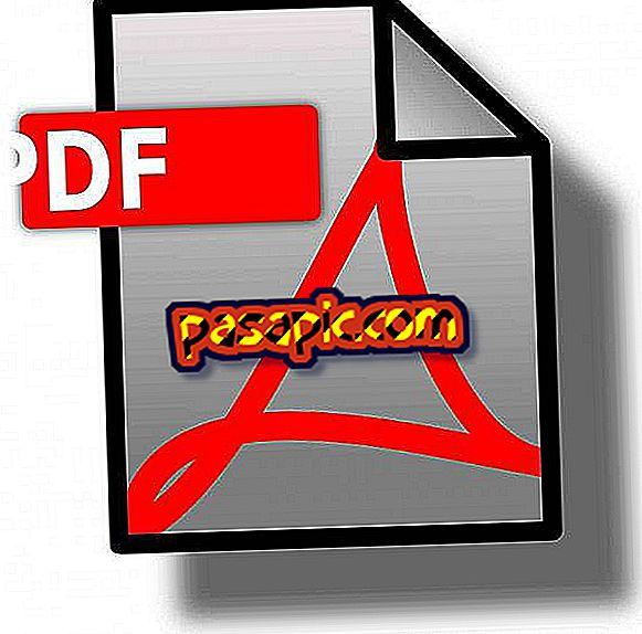Hvordan sjekke ut en pdf