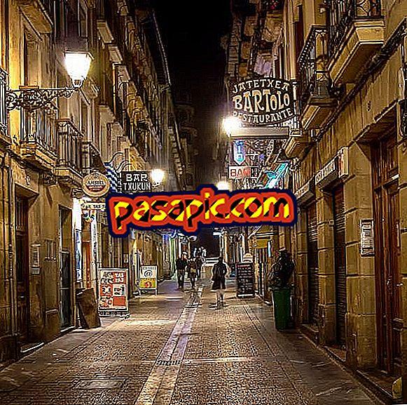 Mida süüa San Sebastiánis