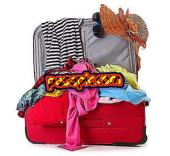 Come preparare una valigia per 3 giorni